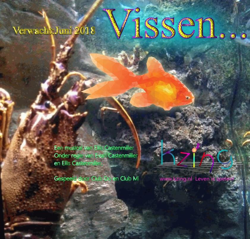 Vissen: een musical over een avontuurlijke vis