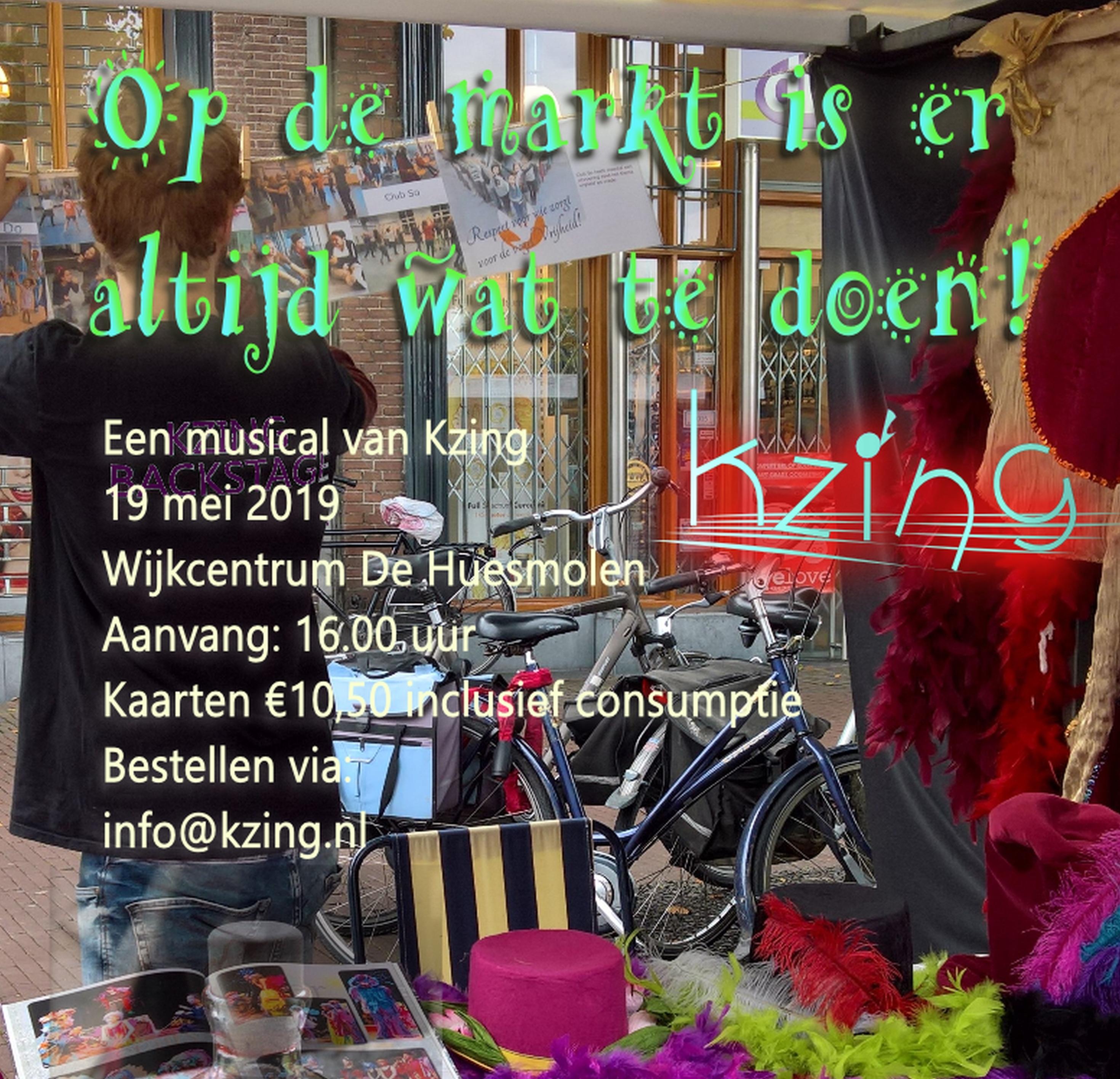Op de markt ... een musical over samenleven