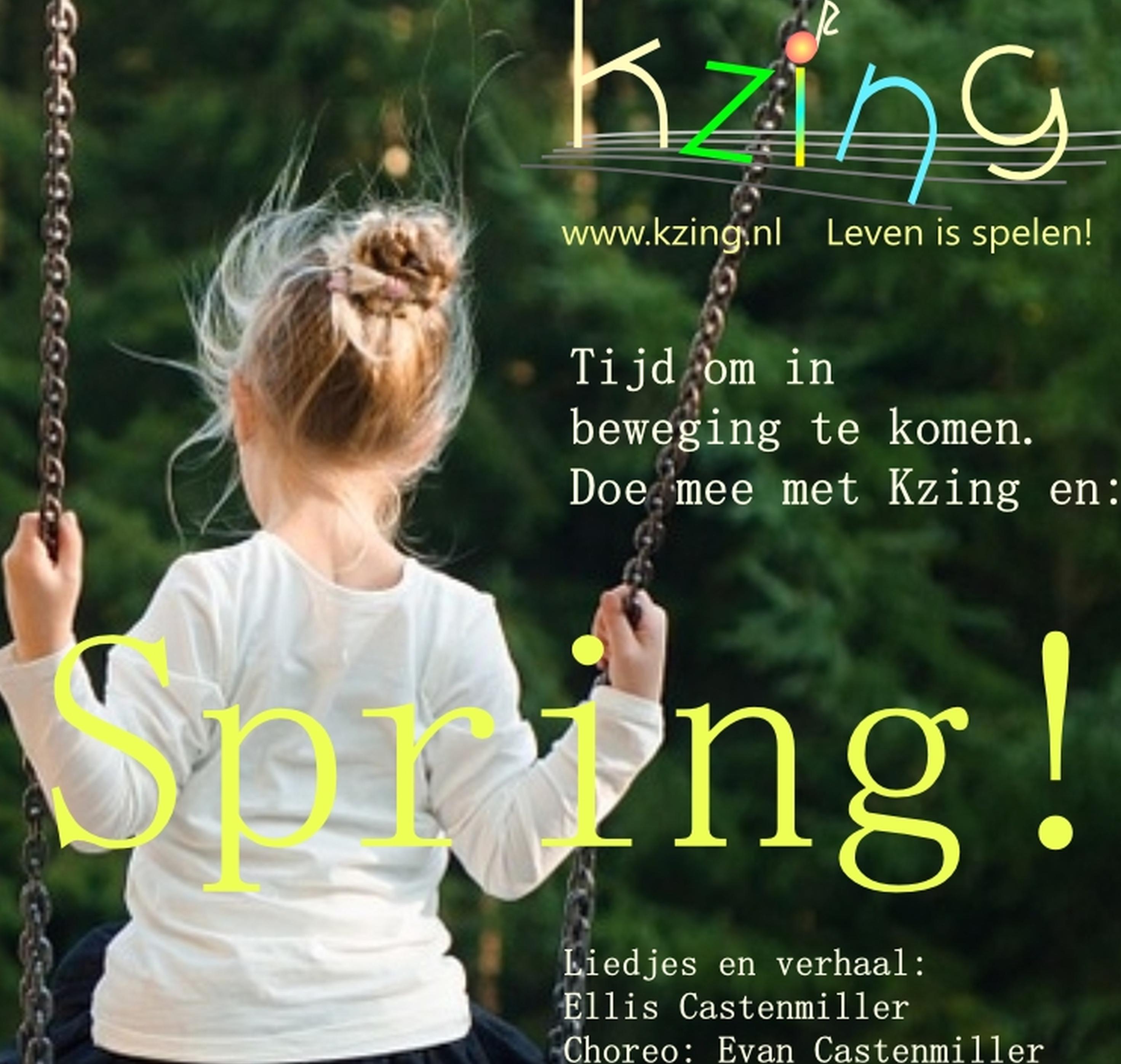 """Kom in beweging met Kzing en """"Spring!"""""""